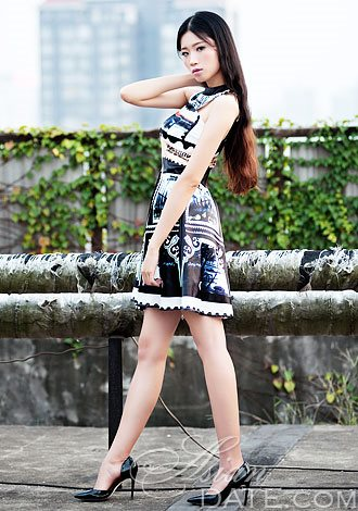 Chinese girl playing herself on cell phone - 1 3